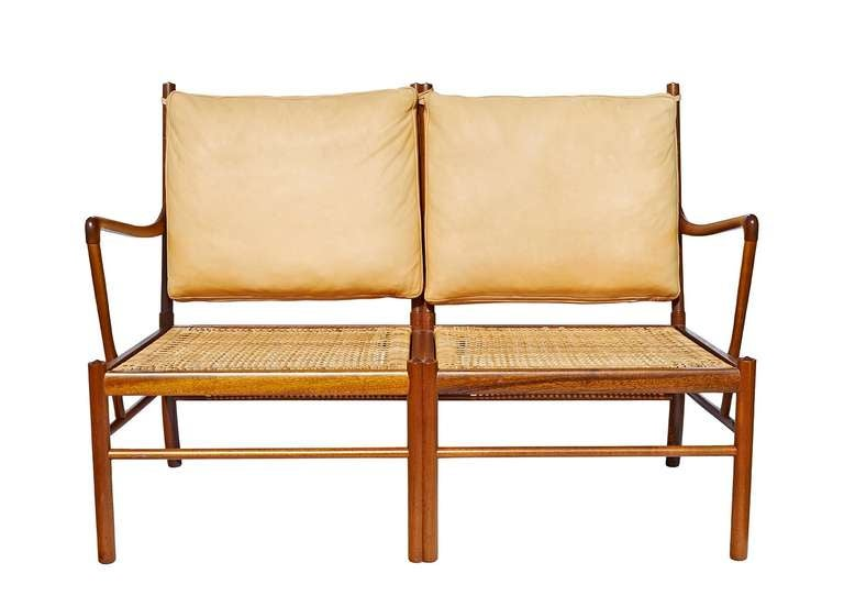 """Colonial"" Settee by Ole Wanscher 5"