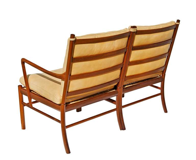 """Colonial"" Settee by Ole Wanscher 3"