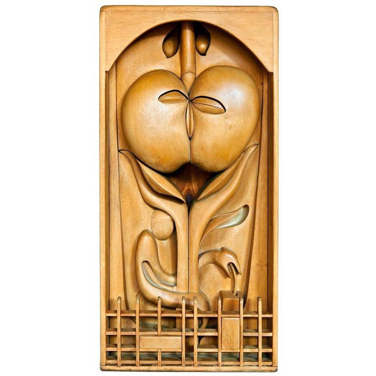 """""""The Forbidden Fruit"""" Sculpture by Jan De Swart"""