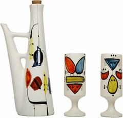 Cognac Set by Roger Capron