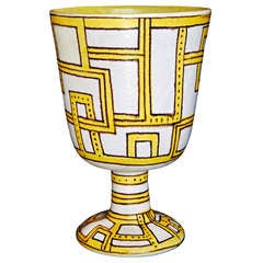 Large Chalice by Guido Gambone