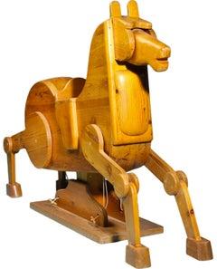 Modernist Rocking Horse from Denmark