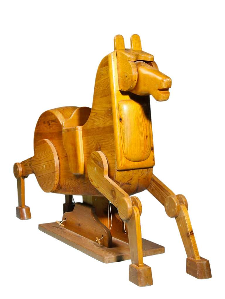 Danish Modernist Rocking Horse from Denmark For Sale