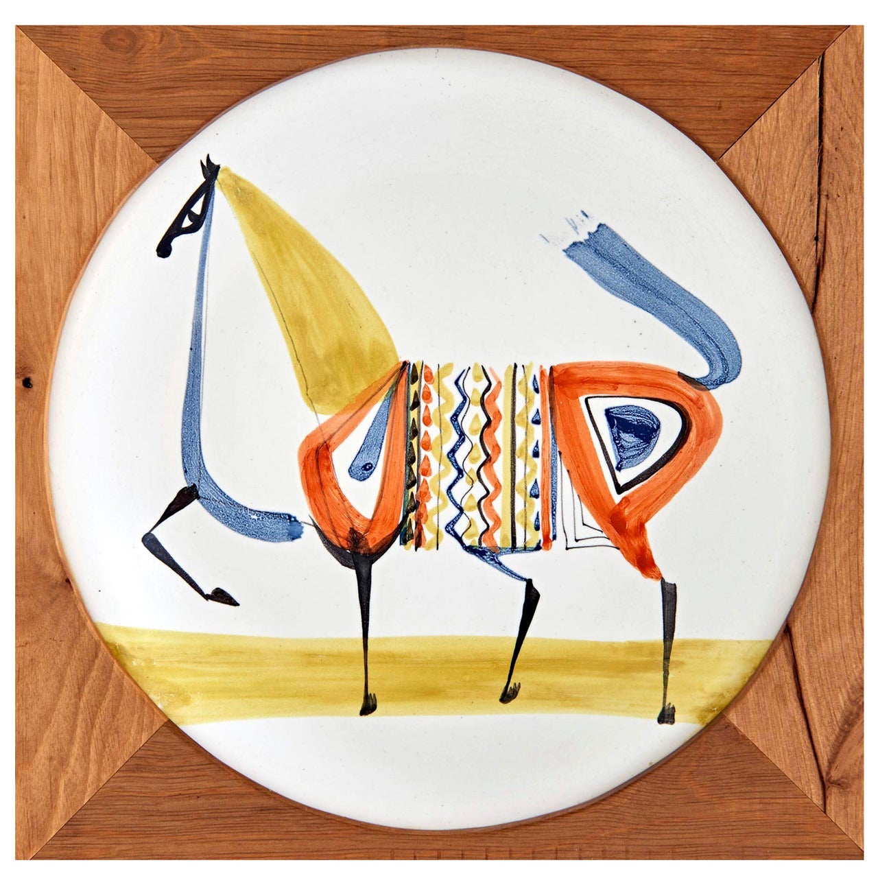Plate by Roger Capron