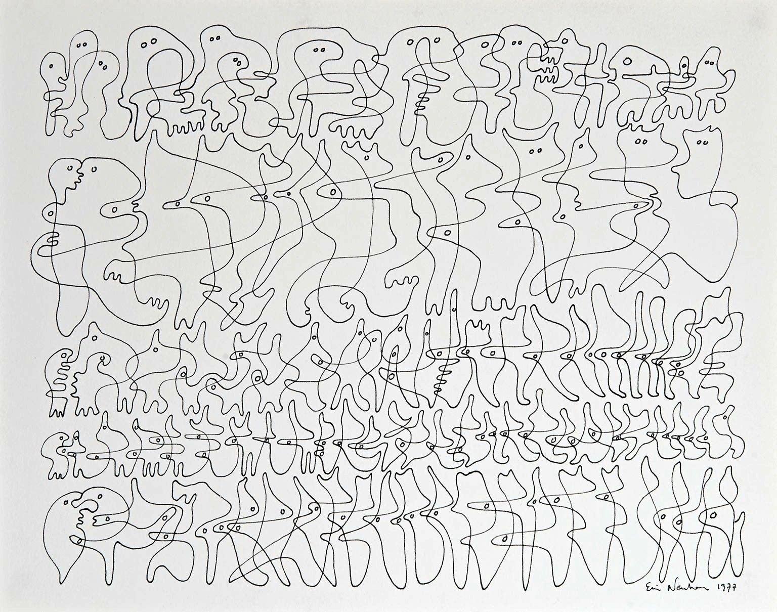Drawing by Ervin Neuhaus