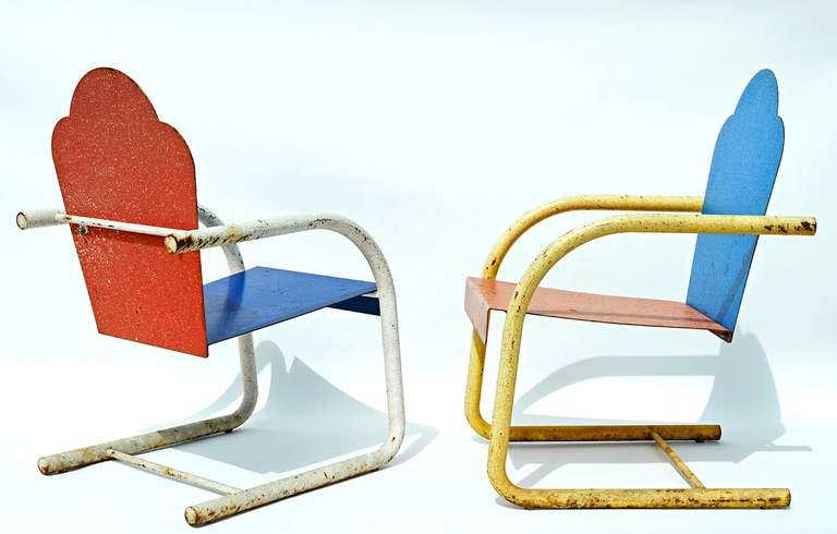 Rare Chairs By Peter Shire At 1stdibs