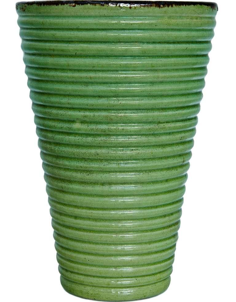Provençal Art Deco Vase For Sale