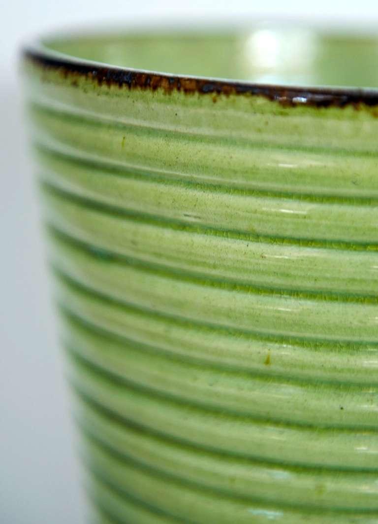 Mid-20th Century Provençal Art Deco Vase For Sale