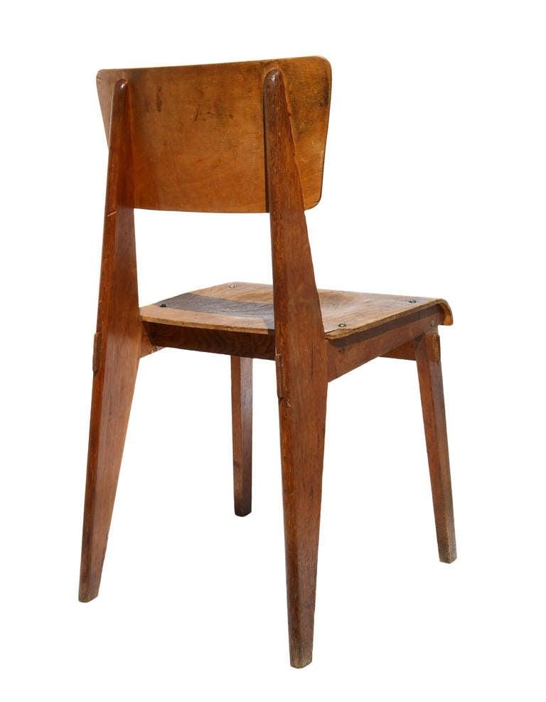 chaise jean prouve prix 28 images chaise en bois by. Black Bedroom Furniture Sets. Home Design Ideas