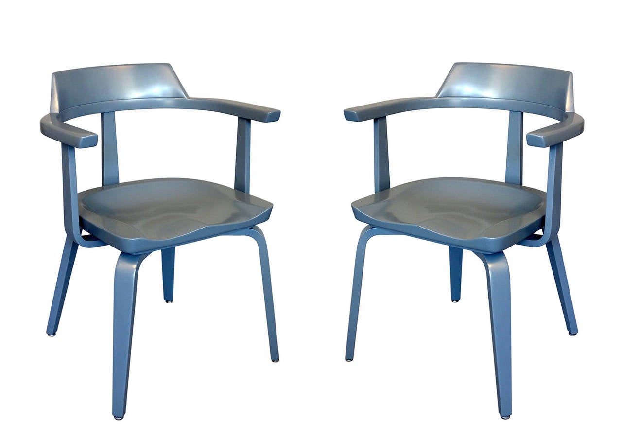 "Pair of ""W199"" Armchairs by Walter Gropius 10"