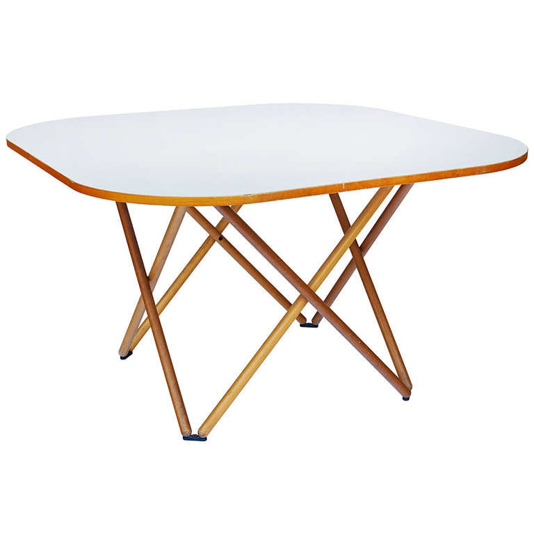 Rare Dining Table by Vico Magistretti For Sale