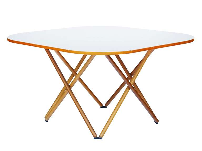 This rare table was part of an imaginative collection of furniture (the