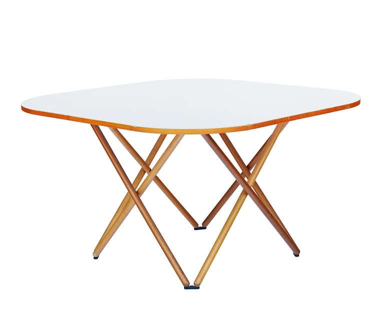 Rare Dining Table by Vico Magistretti For Sale 2