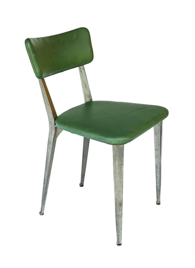 "Aluminum ""BA3"" Chair by Ernest Race 10"