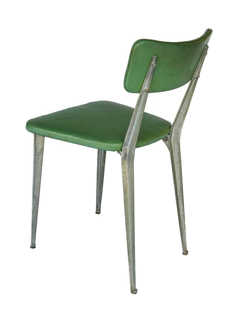 "Aluminum ""BA3"" Chair by Ernest Race 8"
