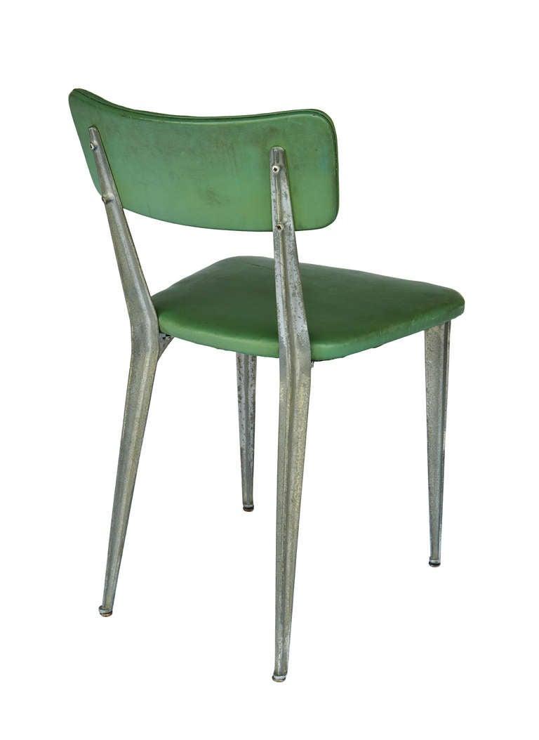 "Aluminum ""BA3"" Chair by Ernest Race 3"