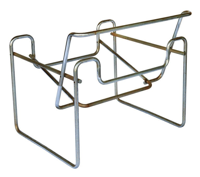 "Pair of Marcel Breuer for Knoll ""Wassily"" Chair Frames 4"
