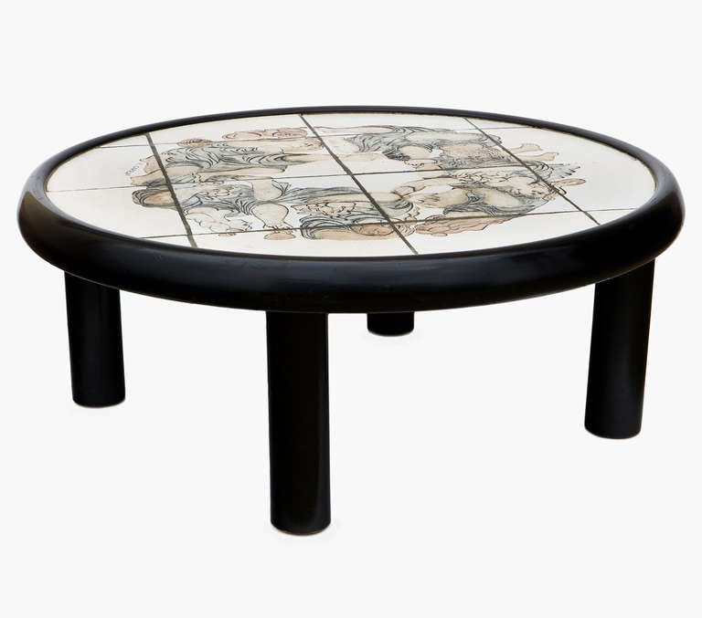 Rare Coffee Table by Roger Capron 3