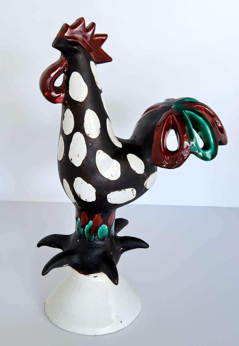 """Le Coq"" Sculpture by Roger Capron 2"