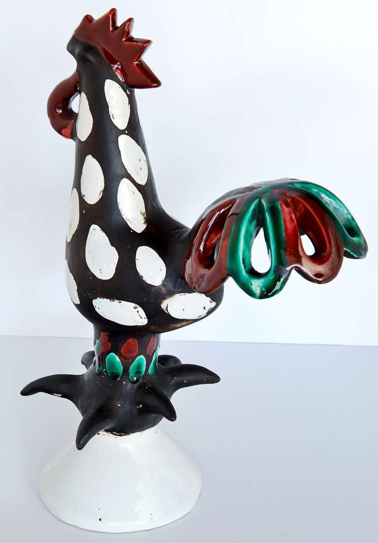 """Le Coq"" Sculpture by Roger Capron 8"