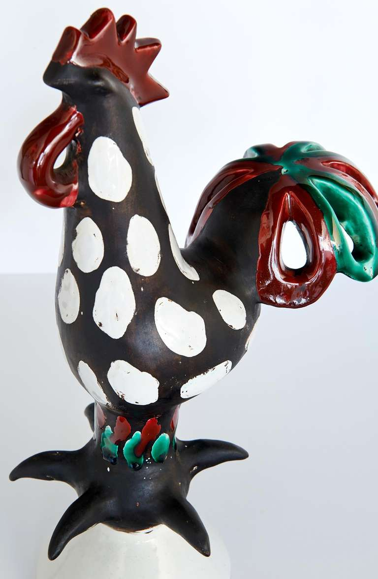"""Le Coq"" Sculpture by Roger Capron 7"