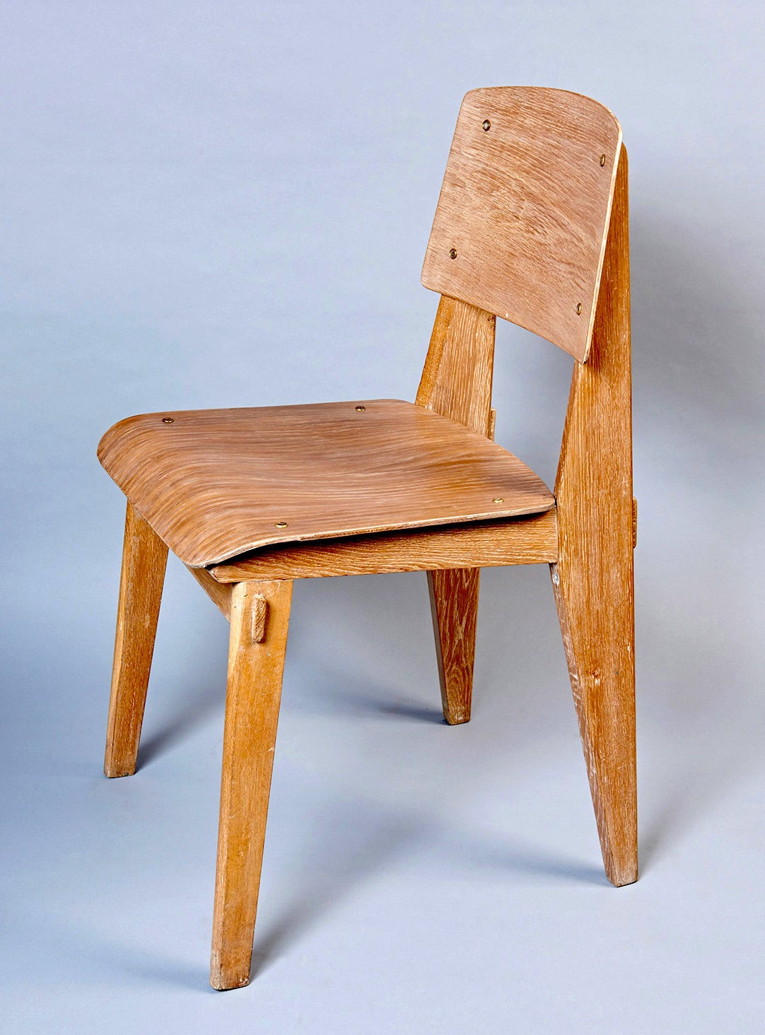 Standard chair tout bois by jean prouv at 1stdibs - Jean prouve chaise standard ...