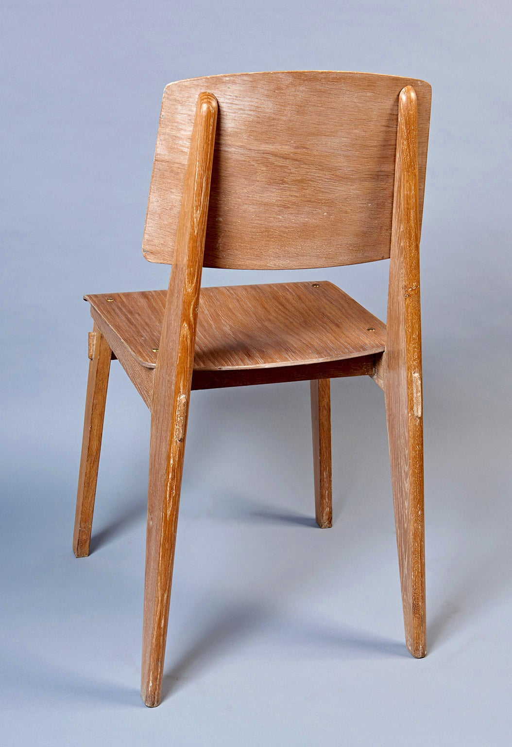 "Standard Chair ""Tout Bois"" by Jean Prouvé 9"