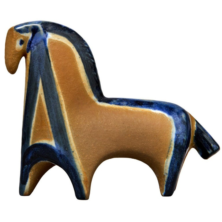 Horse Figure by Lisa Larson For Sale