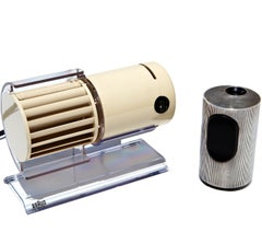 Braun Cylindric T2 Lighter and HL70 Desk Fan