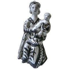 Ceramic Sculpture by Roger Capron