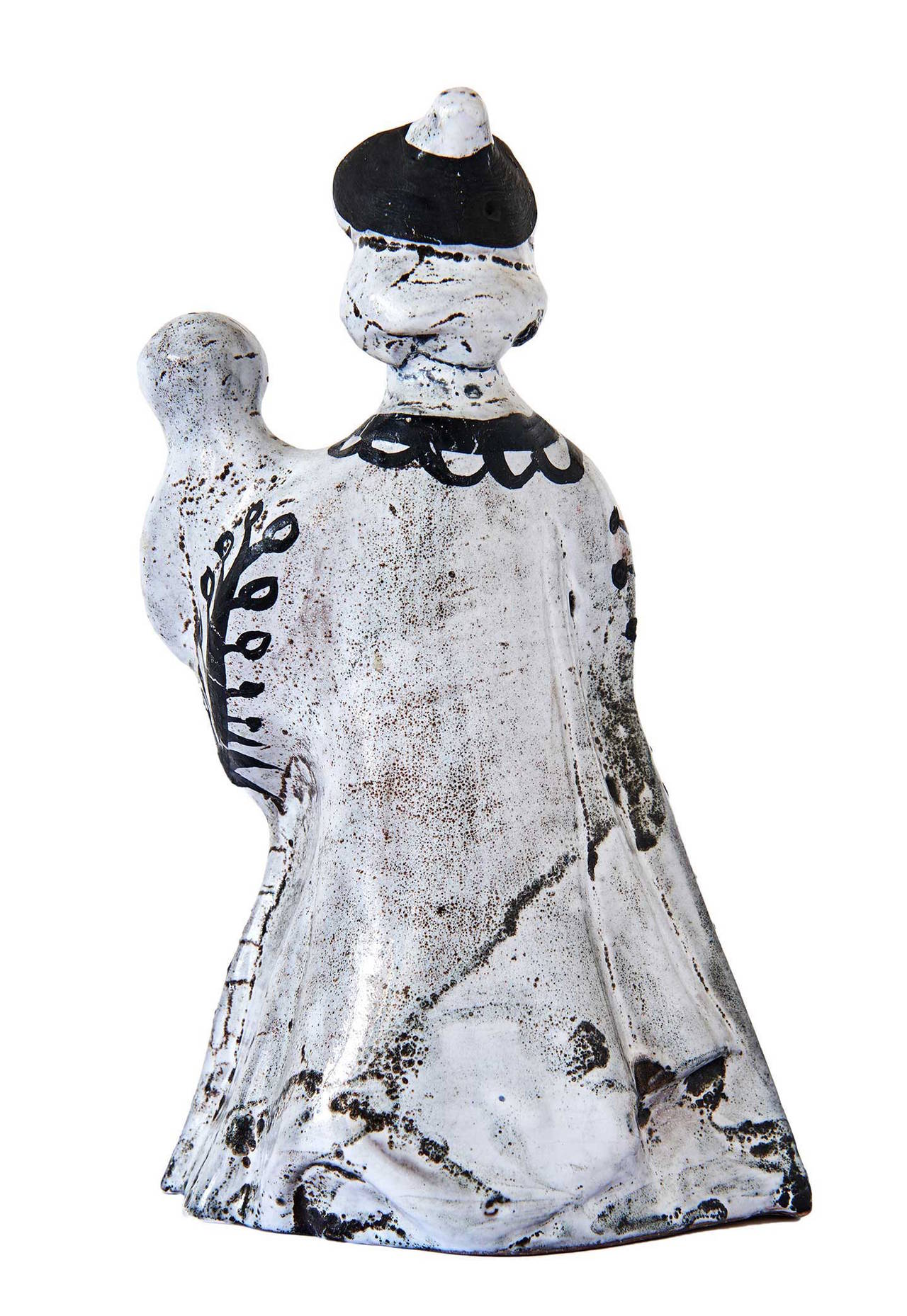 French Ceramic Sculpture by Roger Capron For Sale