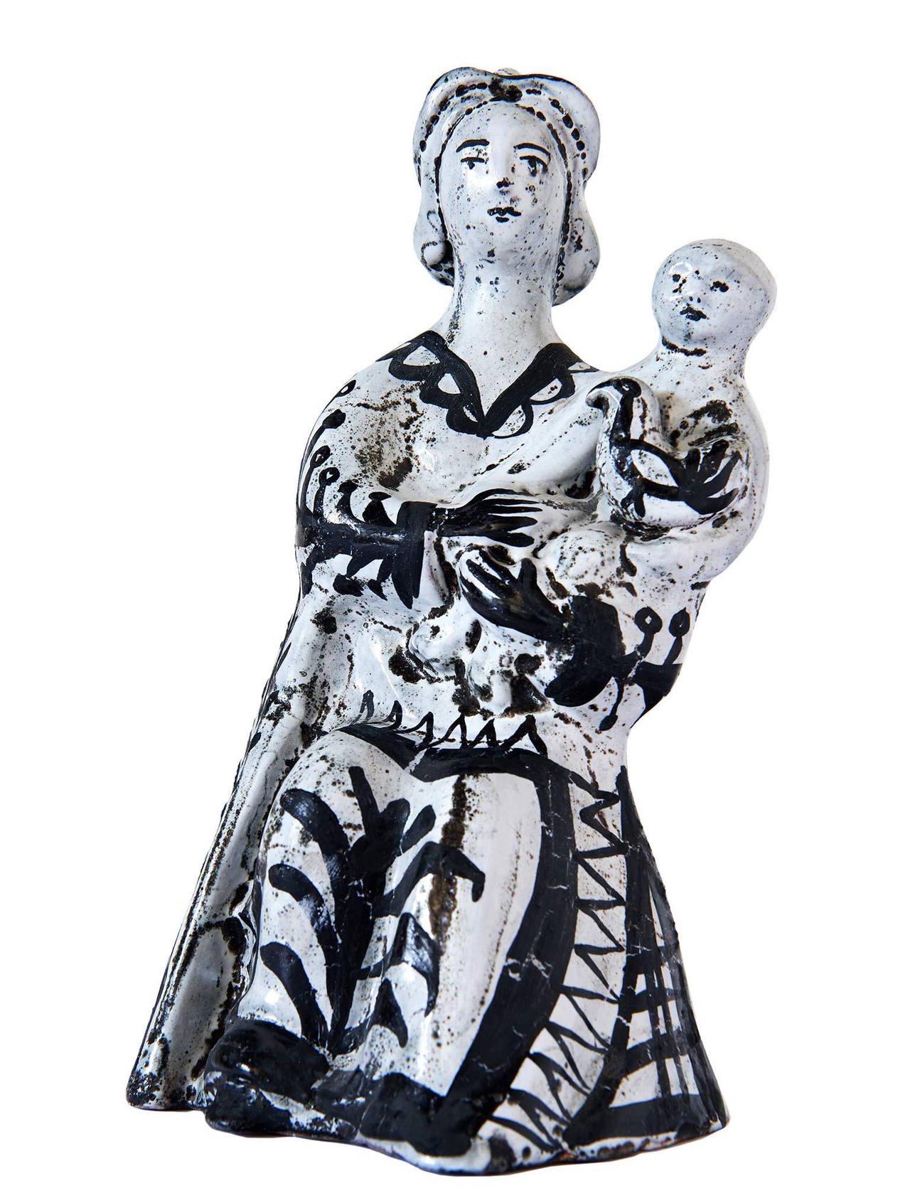 Ceramic Sculpture by Roger Capron For Sale 1