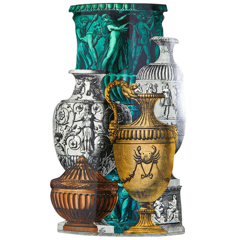 Trompe L'oeil Umbrella Stand by Piero Fornasetti For Sale