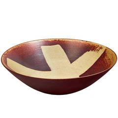 """""""Farsta"""" Bowl by Wilhelm Kage"""