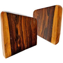 Cocobolo Bookends by Don Shoemaker