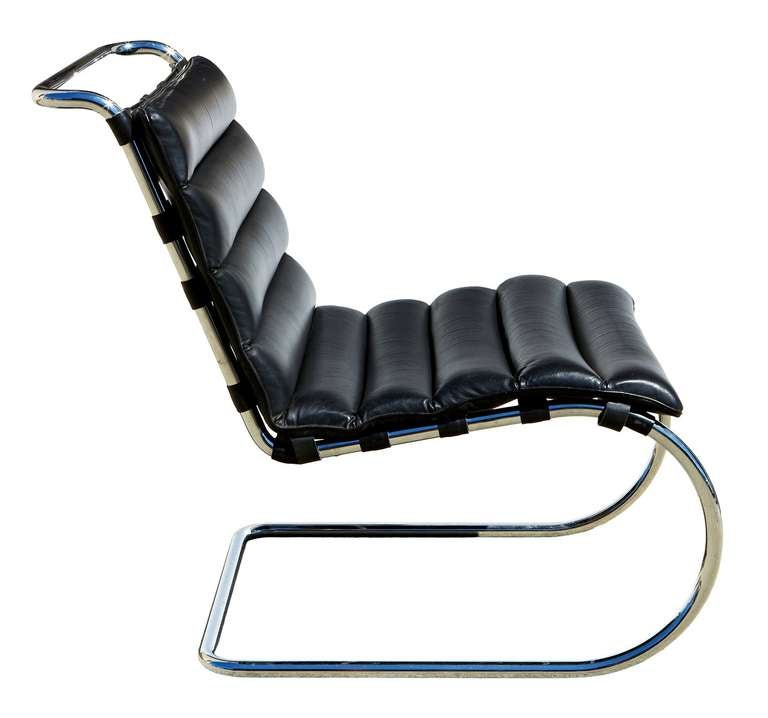 Knoll mr lounge chairs 4 by mies van der rohe at 1stdibs