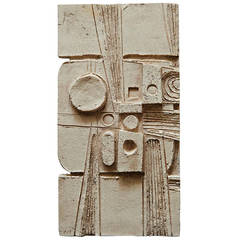 Maquette for Wall Sculpture by Jean Derval