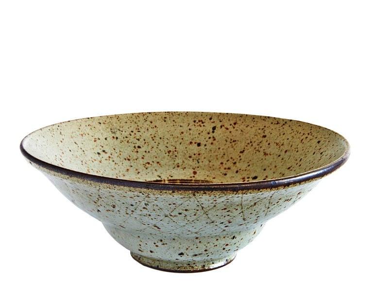 Mid-20th Century Bowl by Antonio Prieto For Sale