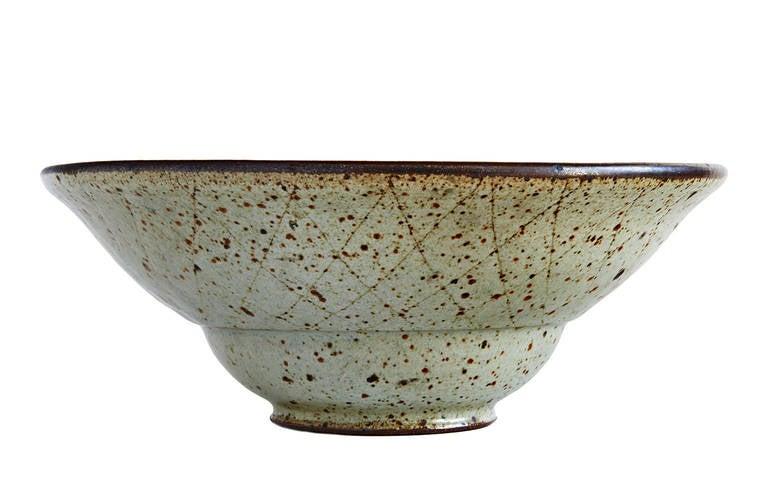 Mid-Century Modern Bowl by Antonio Prieto For Sale