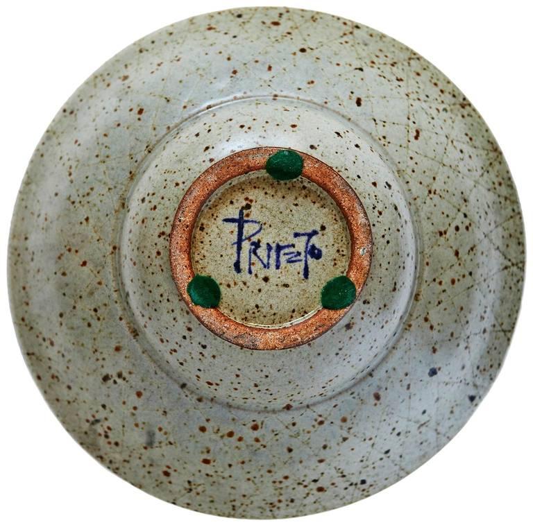 Bowl by Antonio Prieto In Excellent Condition For Sale In Los Angeles, CA