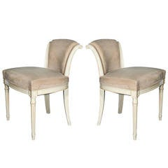 Pair of Louis XVI Chairs from Van Cleef & Arpels' New York Store