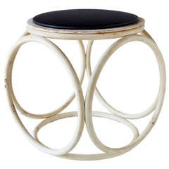 Stool/Occasional Table by Thonet