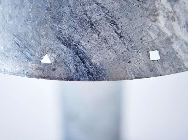 Zinc-Plated Table Lamps by Ron Rezek 4