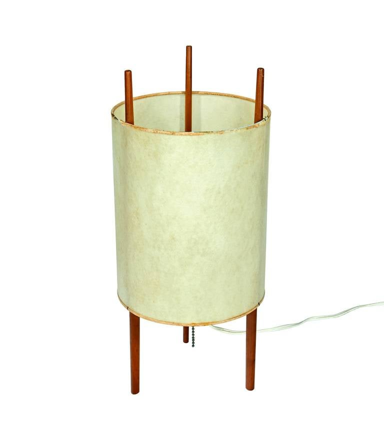 """""""Number 9"""" Table Lamp by Isamu Noguchi 9"""