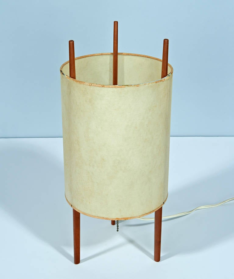 """""""Number 9"""" Table Lamp by Isamu Noguchi 4"""