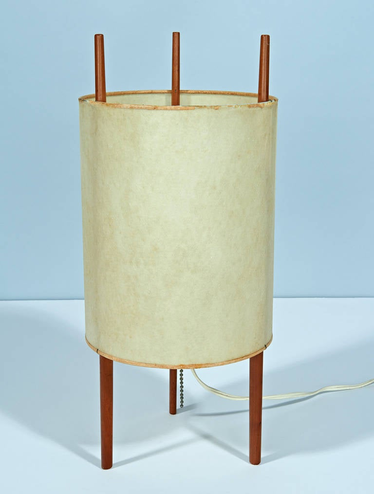 """Number 9"" Table Lamp by Isamu Noguchi For Sale at 1stdibs"