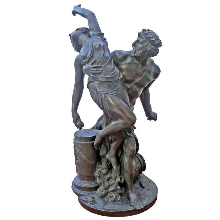 Neoclassical Sculpture In Bronze 19th Century At 1stdibs