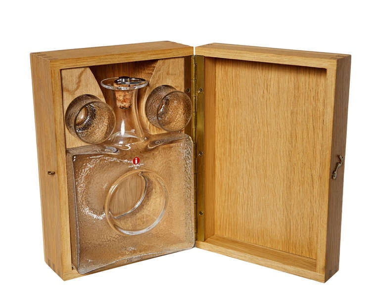 Scandinavian Modern Boxed Drinks Set by Tapio Wirkkala For Sale