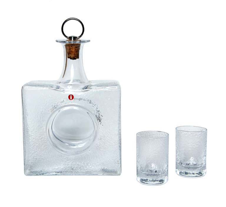 Boxed Drinks Set by Tapio Wirkkala For Sale 1