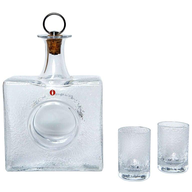 Boxed Drinks Set by Tapio Wirkkala For Sale